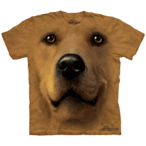 camiseta golden retriever unissex